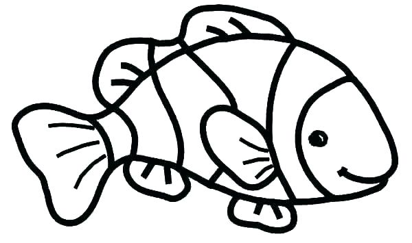 600x355 Rainbow Printable Coloring Pages Blank Fish Template Magic Go Card