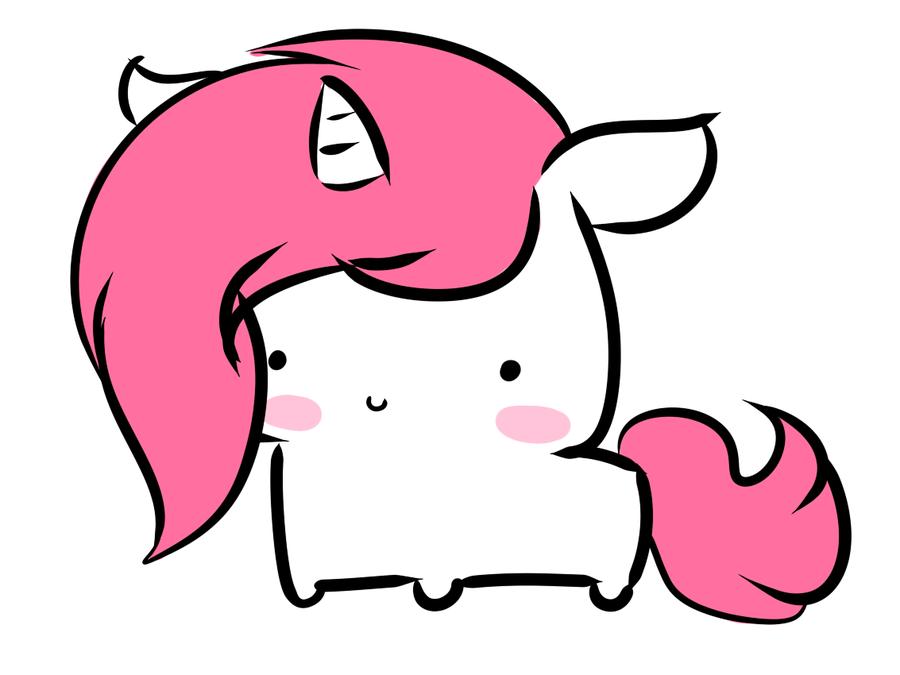 Rainbow Unicorn Drawing