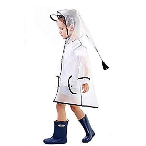 466x466 show lo kids raincoat hoodie poncho, durable