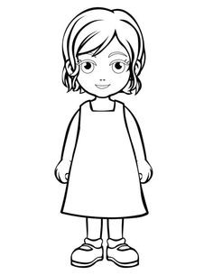 236x305 beautiful girl in raincoat coloring pages