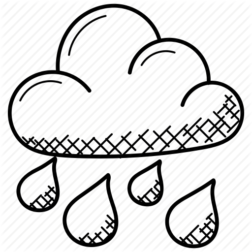 512x512 rain, rain cloud, raindrops, rainy weather, weather icon
