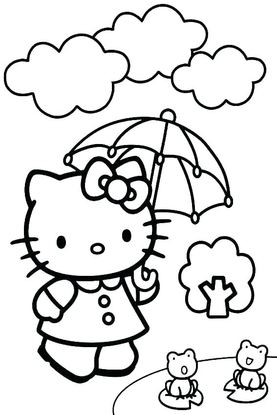 567x850 rainy day coloring pages rainy day coloring pages for preschoolers