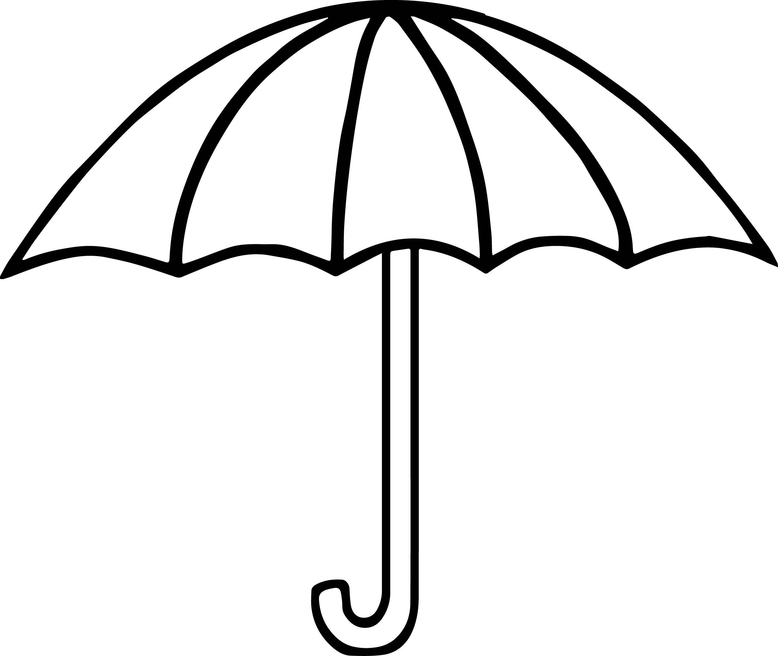 2500x2111 Umbrella Coloring