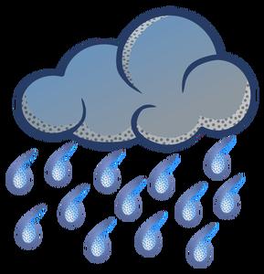 289x300 Free Clip Art Rainy Weather