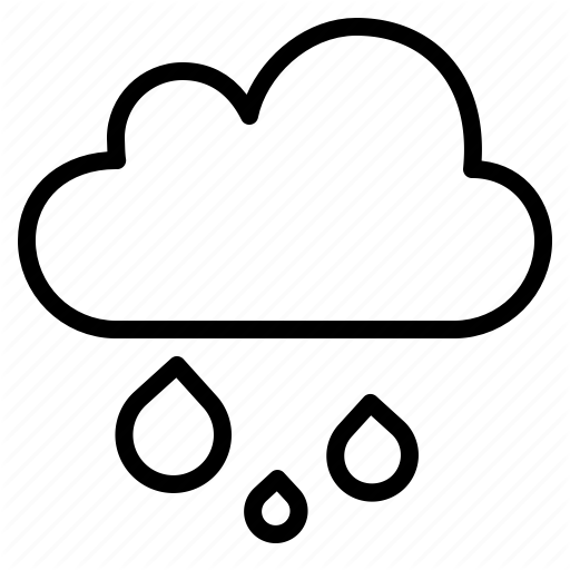 Rainy Weather Drawing | Free download on ClipArtMag