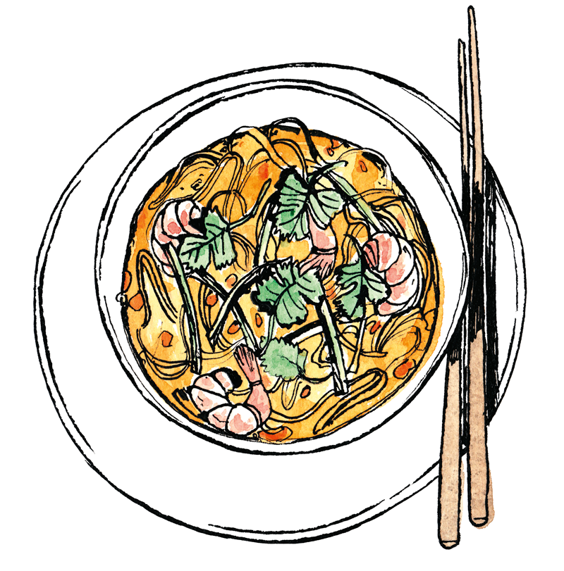 Collection Of Noodles Clipart
