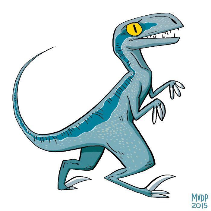 700x700 blue the velociraptor dinosaurs in jurassic park world