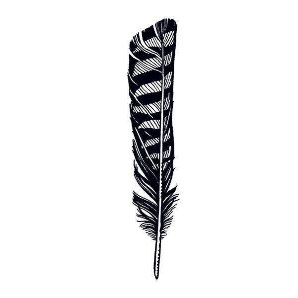 600x600 Hawk Feather Want Feather Tattoo Design, Hawk Tattoo, Hawk