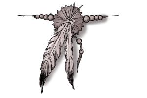300x200 How To Draw A Feather Tattoo