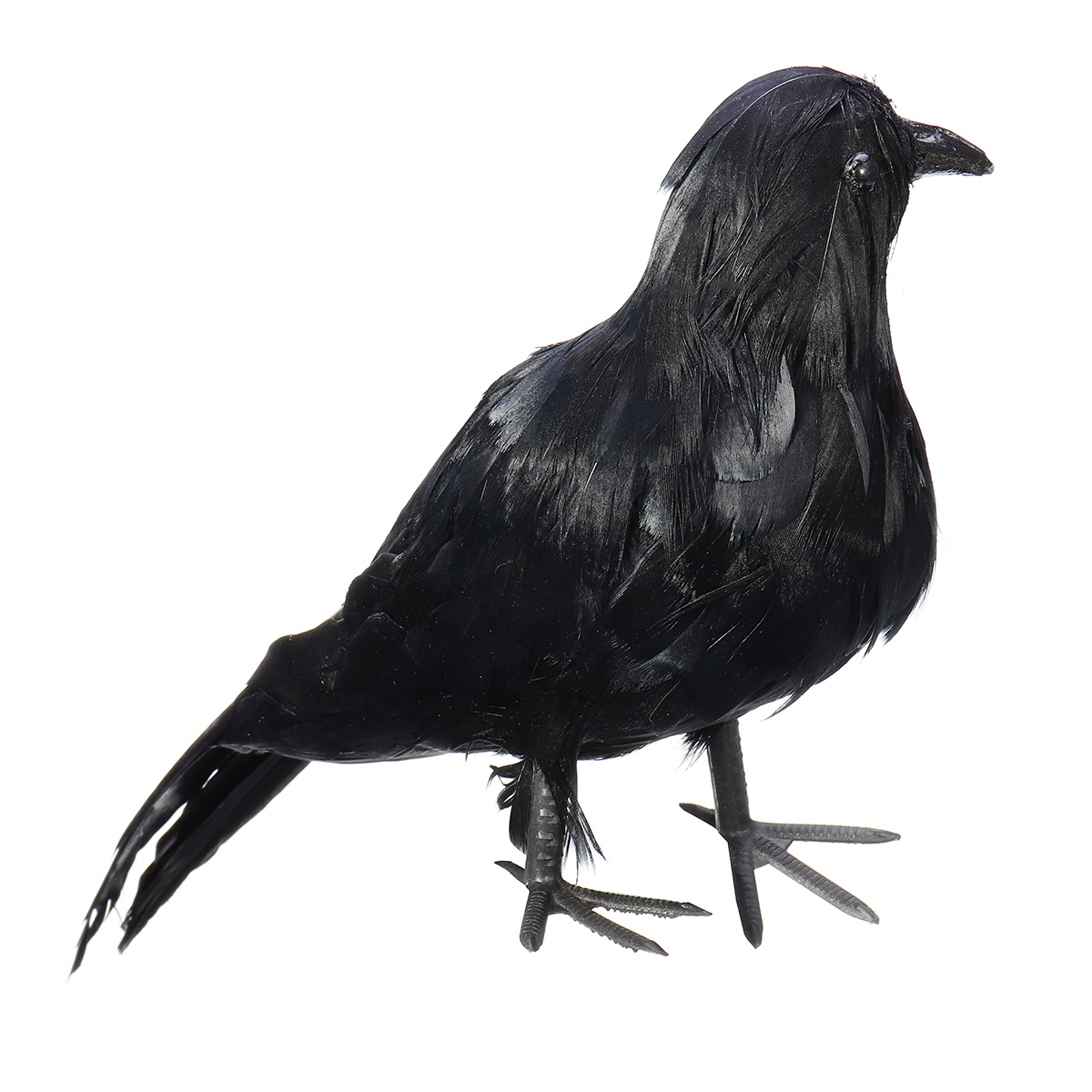 1200x1200 Raven Halloween Party Crow Bird Decorations Prop Stuffed Feather