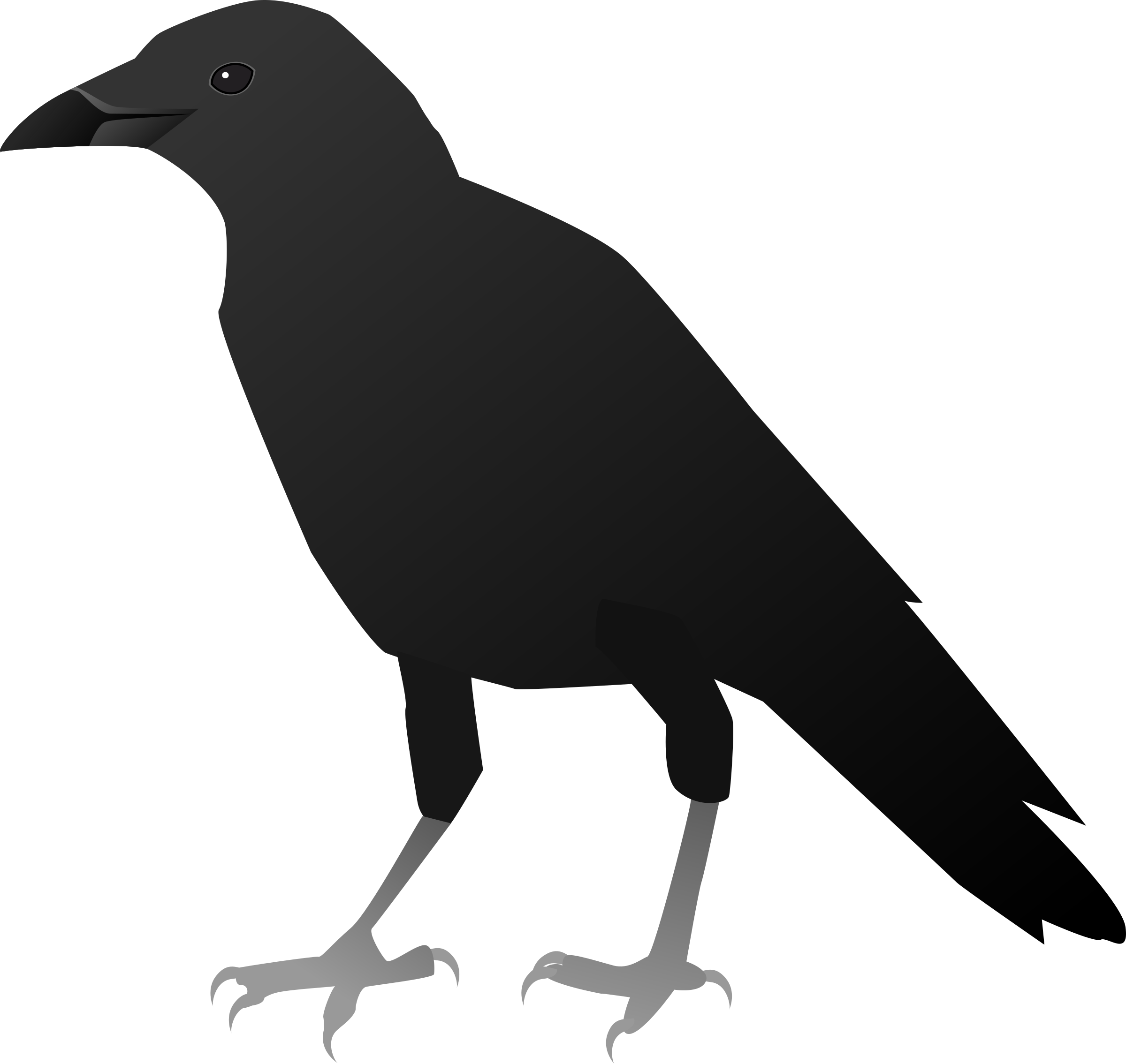 2400x2269 Collection Of Free Crow Drawing Feather Download On Ui Ex