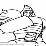150x150 Real Steel Coloring Pages Atom Max Free To Color For Coloring Pages