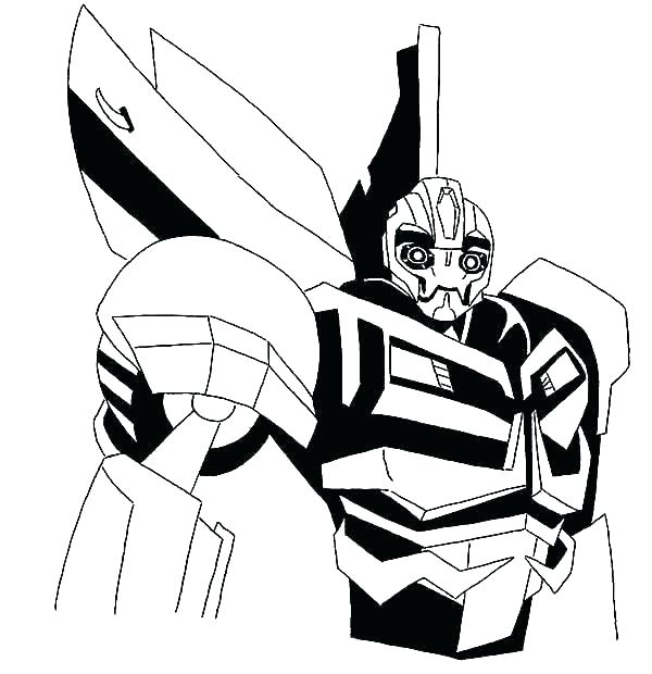 600x620 Real Steel Zeus Coloring Pages