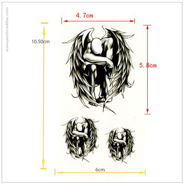635x635 Lonely Nakid Fallen Angel Deamons Male Feather Wings Realistic
