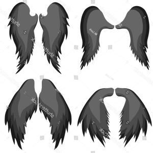 300x300 Png Drawing Fallen Angel Image Fallen Angel Wings Tatt Shopatcloth