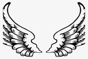 300x200 Simple Angel Wings Drawing Buy Clip Art