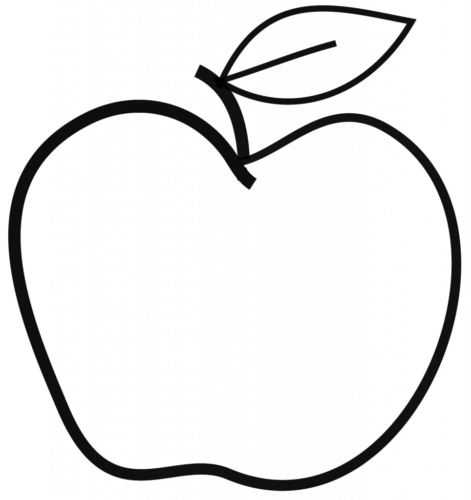 Realistic Apple Drawing