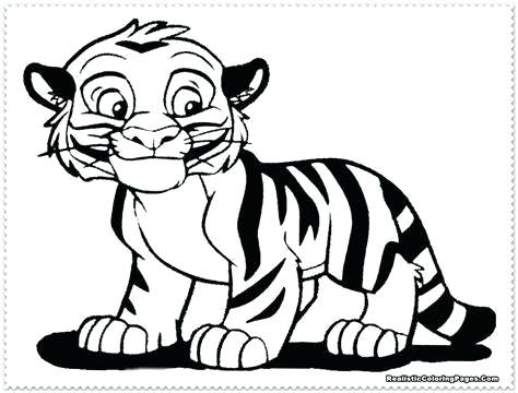 474x360 Coloring Pages Tiger Coloring Pages Realistic