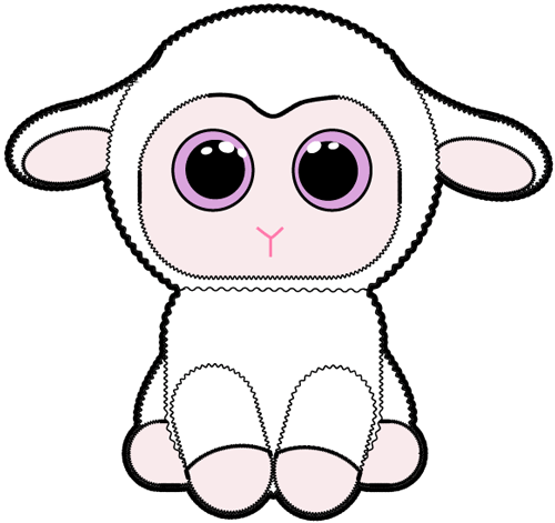500x471 How To Draw Baby Lamb With Easy Step