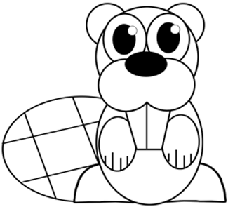 325x295 How To Draw A Realistic Beaver