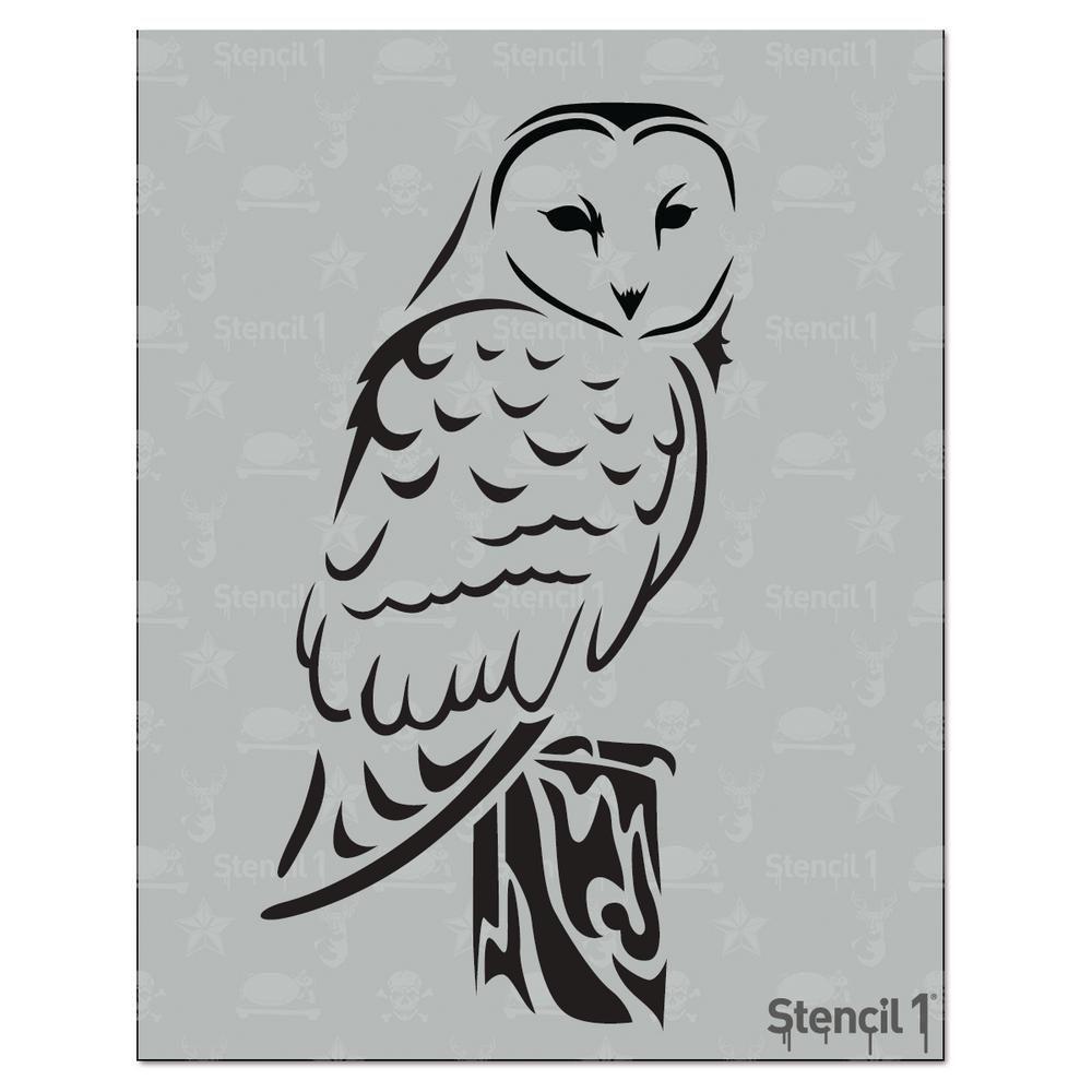 1000x1000 barn owl stencil barn owls owl stencil, owl, owl