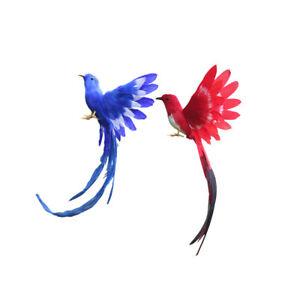 300x300 New Artificial Bird Realistic Bird Taxidermy Figurine Garden