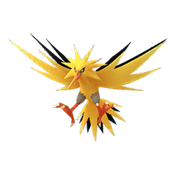 256x256 Zapdos Drawing Realistic Transparent Png Clipart Free Download