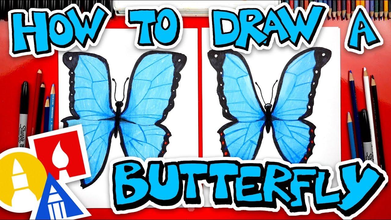 1280x720 How To Draw Butterfly Emoji Realistic