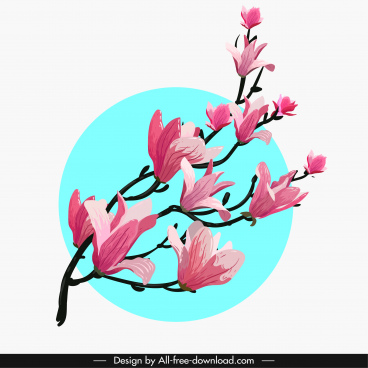 368x368 Cherry Blossom Free Vector Download