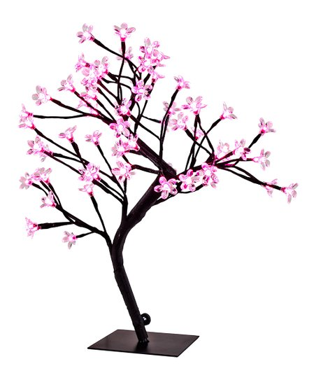 452x543 River Of Goods Pink Cherry Blossom Tree Led Accent Lamp Zulily
