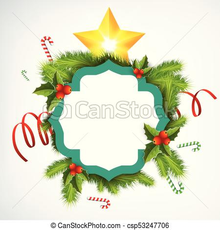 450x470 realistic christmas wreath template realistic christmas wreath