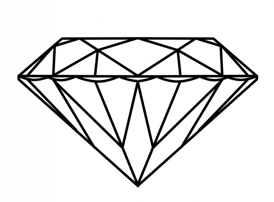 940x695 Diamond Ring Coloring