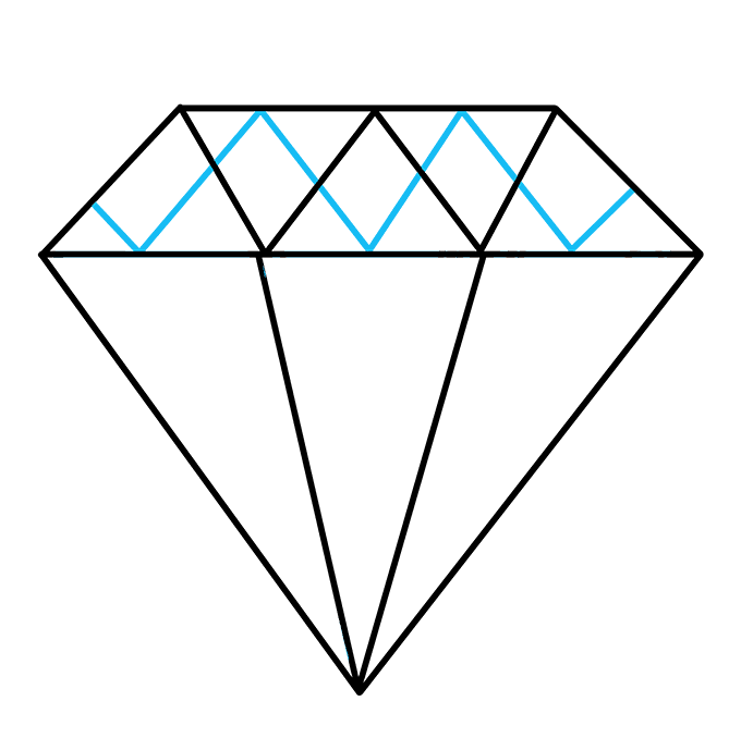 680x678 How To Draw A Diamond