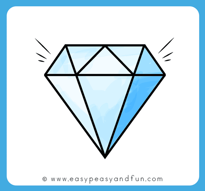 700x652 How To Draw A Diamond