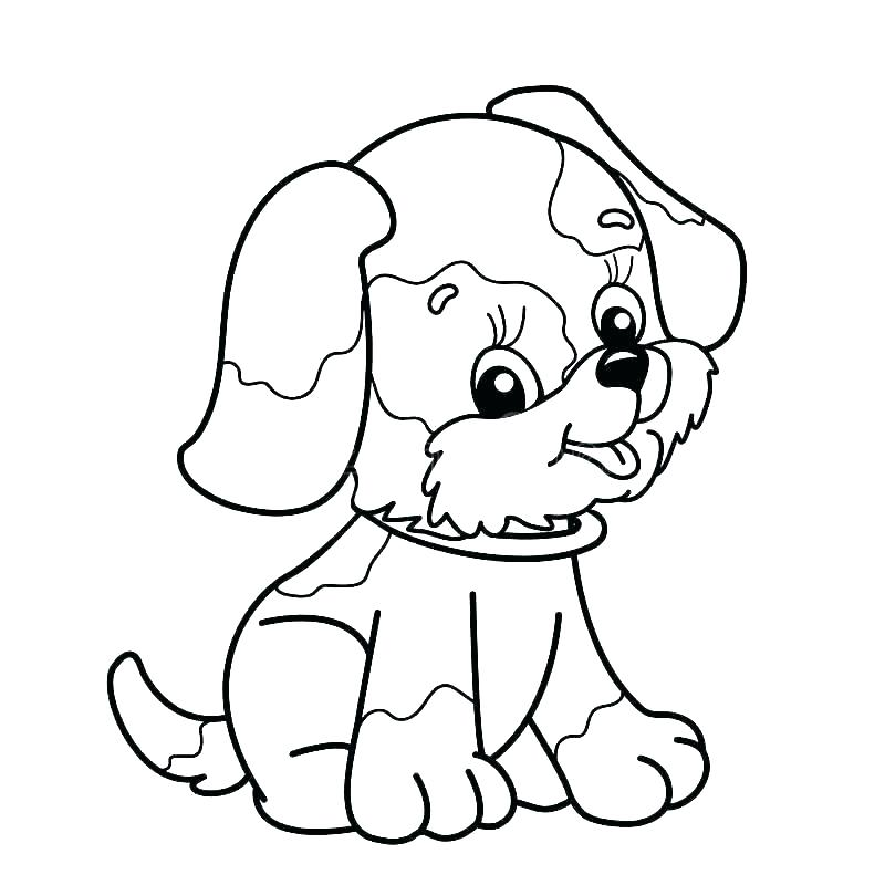 800x800 Coloring Pages Dog Real Dog Coloring Pages Small Baby Dogs