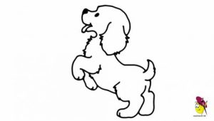 300x170 Huge Collection Of 'cute Dog Drawing Easy' Download More Than
