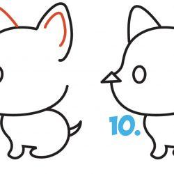 250x250 Dog Drawing Easy Images Realistic Hot Barking English Bulldog Sled