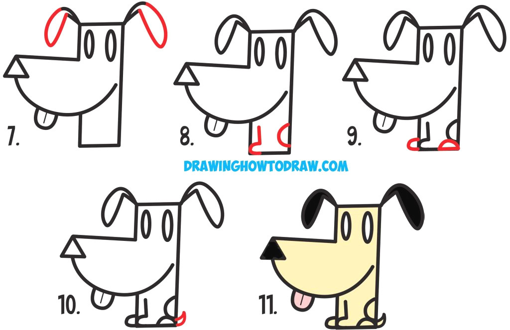 1024x663 Draw A Dog Sketch New How To Draw A Realistic Dog Nose