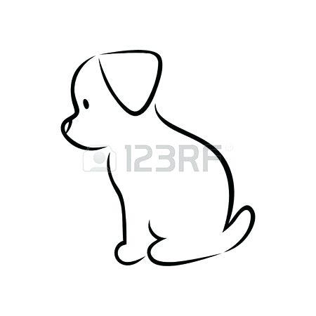 450x450 Drowing Dog Drawing Dog Art Doodle Dog Download Free Transparent