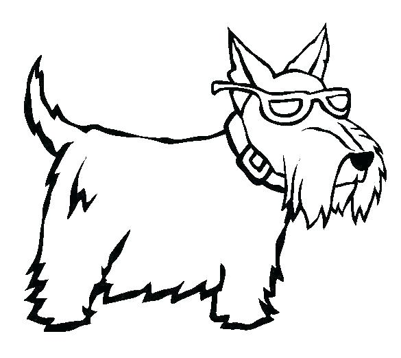 585x521 Realistic Dog Coloring Pages E Dogs Real Looking Pictures