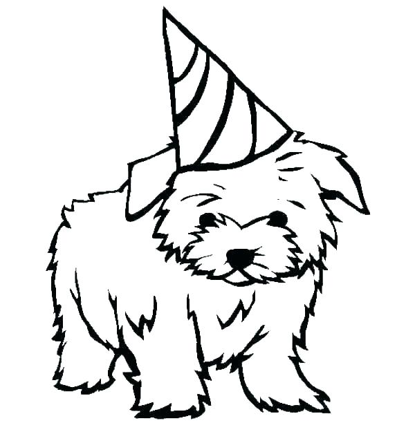 600x612 Realistic Puppy Coloring Pages Retriever Fine Dog For Real Cute