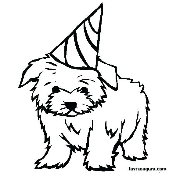 554x565 Dog Coloring Pages Realistic