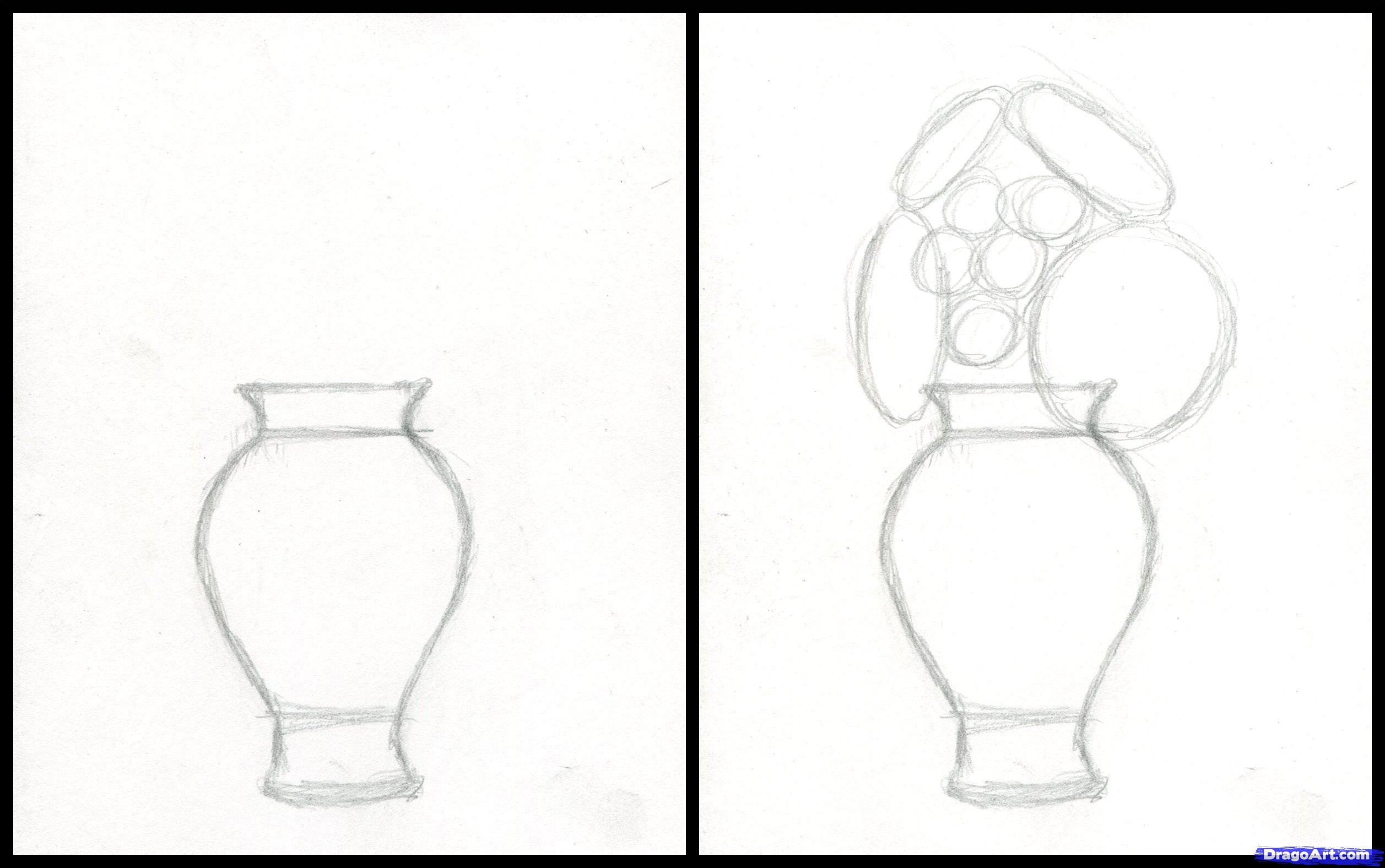 2514x1576 How To Draw Realistic Flowers, Step