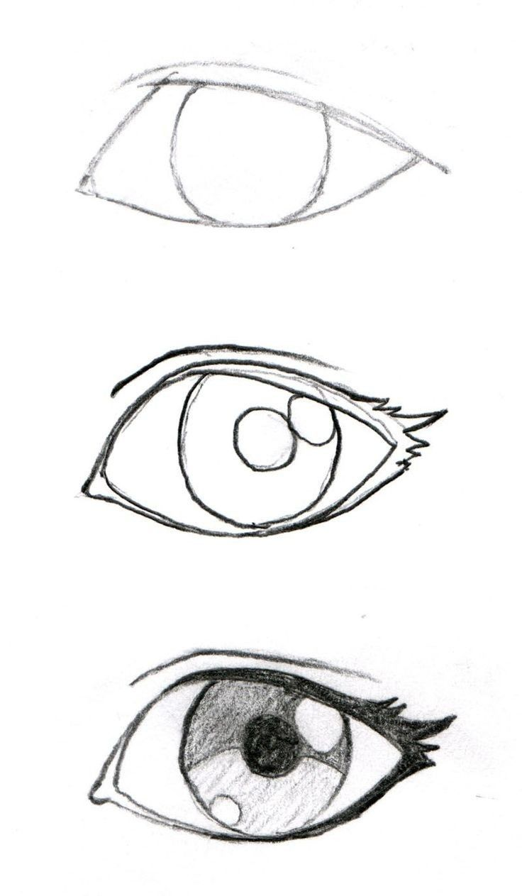 736x1263 How To Draw More Realistic Eye How To Drawdrawing References