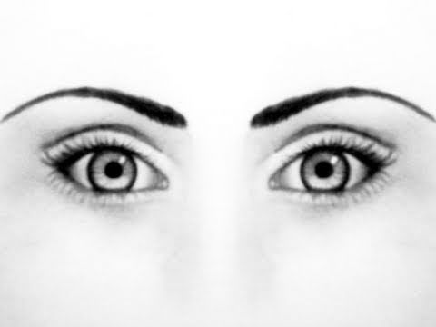 480x360 How To Draw A Realistic Face Part Eyes, Eyebrows, Step