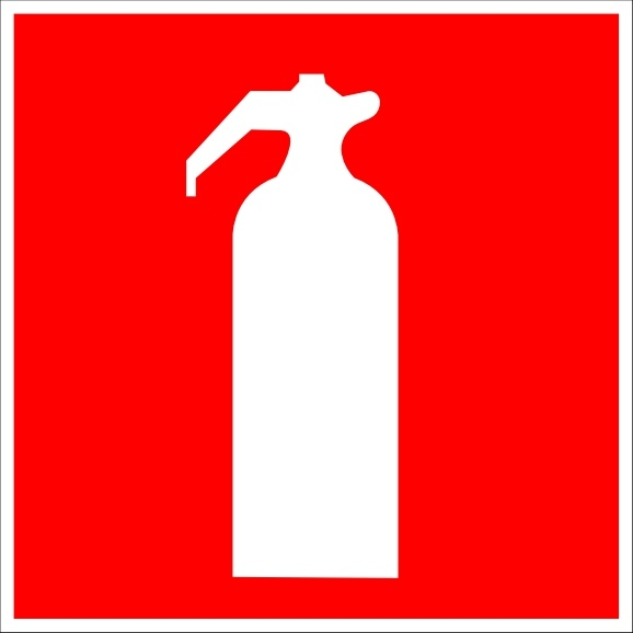 578x578 Fire Extinguisher Sign Clip Art Free Vector In Open Office Drawing