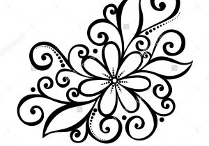 300x210 Art Pictures Of Flowers To Draw Beautiful Flower Drawings