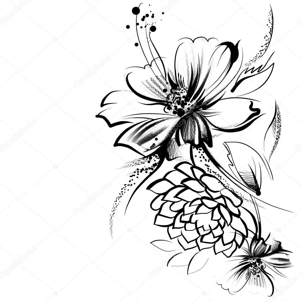 1024x1024 Realistic Flowers To Draw