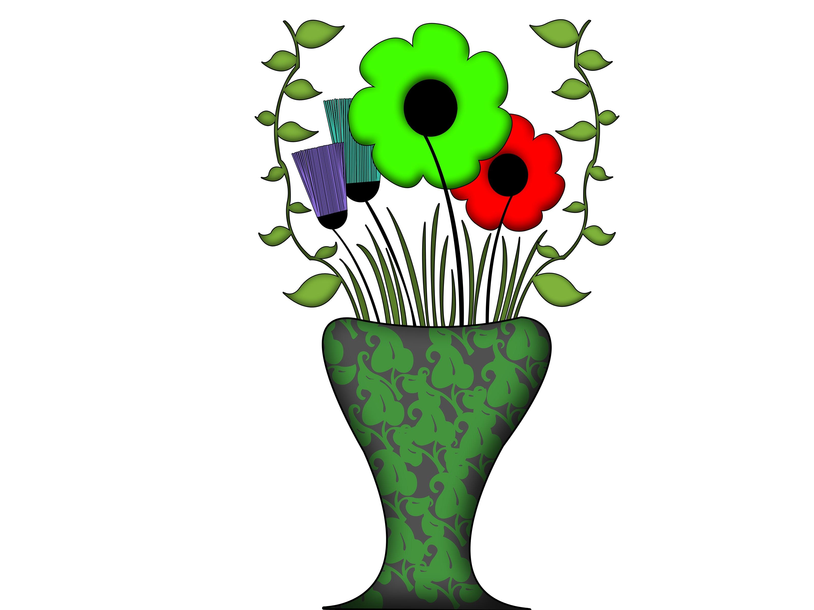 3200x2400 Cartoon Drawings Tumblr Flower Easy Step