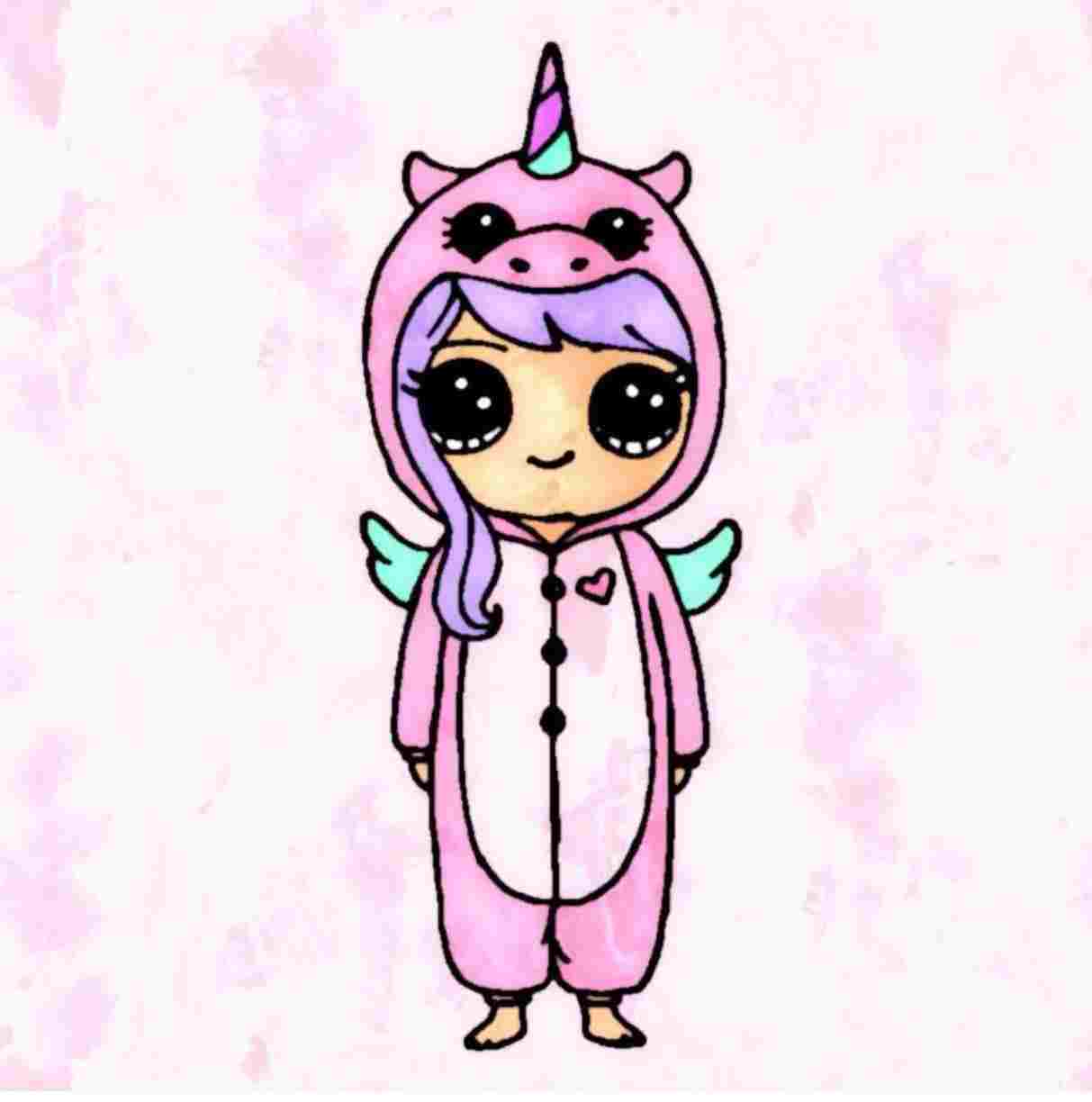 1213x1224 Unicorns Cute Unicorn Girl Drawing Are Real And You Can